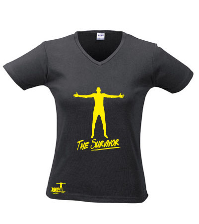 "Tee-Shirt Femme ""The Survivor"""